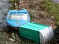 Le barche arenate nel canneto