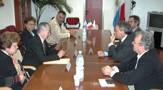 La delegazione argentina