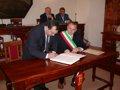 Il sindaco di Montevago firma il patto di amicizia