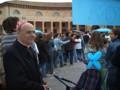Il Vescovo nello stand della GiFra