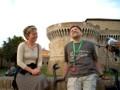 Fabrizio chicchiera con l'assessore Massi