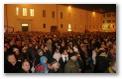 I festeggiamenti in piazza del Duca